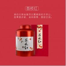 2016, Личи Хунча, 500 г/банка, красный чай, ч/ф Ланьцан