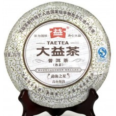 2012 год, Мэнхайская Звезда, шу пуэр, блин, ч/ф Даи