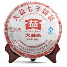 2012 год, Познающий Вкус Чая, шу пуэр, блин, ч/ф Даи