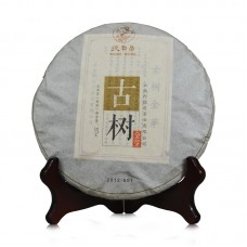 2012 год, Золото древних деревьев, шу пуэр, блин, ч/ф Дэфэн Чан