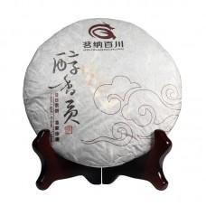 2012, Яркий аромат Юньнани, 0,357 кг/блин, шу, ч/ф МНБЧ