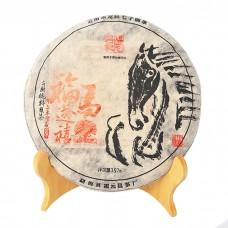 2014 год, Счастье, дарованное Лошадью, шу пуэр, блин, ч/ф Фуюань Чан