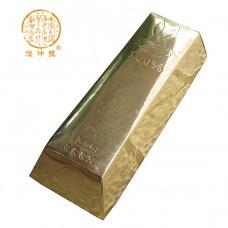 2011 год, Золотой слиток, шу пуэр, кирпич, ч/ф Цзюньчжун Хао