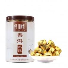 2017 год, Оригинальный вкус, шу пуэр, точа, ч/ф Цяньшань Е