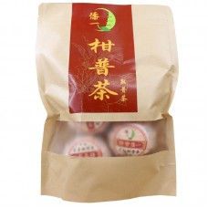 2017 год, Красный мандарин, шу пуэр, пакет, ч/ф Цяо И