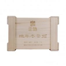 2016 год, Лао Чатоу, шу пуэр, коробка, ч/ф Чжэн Хао
