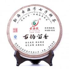 2013, Плывущий аромат ушедшей Эпохи, 0,4 кг/блин, шу, ч/ф Юньюань Хао