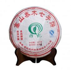 2007, Горные высокие деревья, 0,357 кг/блин, шэн, ч/ф Гоянь