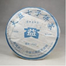 2006 год, 7542, шэн пуэр, блин, ч/ф Даи