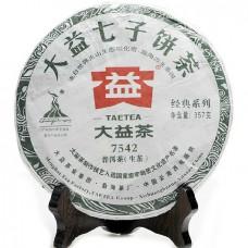 2010 год, 7542, шэн пуэр, блин, ч/ф Даи