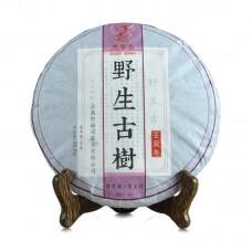 2012, Древний Дикорос, 357 г/блин, шэн, ч/ф Дэфэн Чан