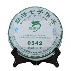 2007 год, 0542, шэн пуэр, блин, ч/ф Лунъюань Хао