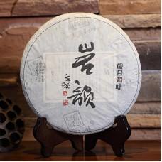 2017 год, Утёсный чай, шэн пуэр, блин, ч/ф Суйюэ Чживэй