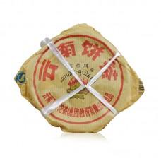2011, Священный Огонь. Мини, 0,125 кг/блин, шэн, ч/ф Сягуань