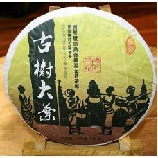 2012 год, Гудэн, хуанпянь, шэн пуэр, блин, ч/ф Фуюань Чан