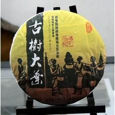 2012 год, Манчжи, хуанпянь, шэн пуэр, блин, ч/ф Фуюань Чан