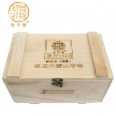 2011 год, 1688, шэн пуэр, коробка, ч/ф Цзюньчжун Хао
