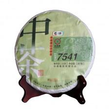 2014 год, 7541, шэн пуэр, блин, ч/ф Чжунча