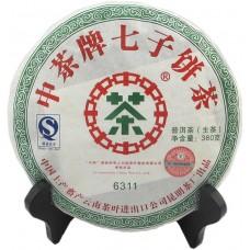 2007 год, 6311, шэн пуэр, блин, ч/ф Чжунча