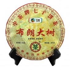 2012 год, Буланшаньские Деревья, шэн пуэр, блин, ч/ф Чжунча