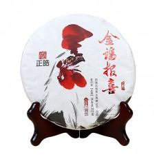 2017, Золотой Петух, 0,357 кг/блин, шэн, ч/ф Чжэнхао