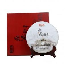 2017, Сокровища Баньчжана, 0,38 кг/коробка, шэн, ч/ф Чжэнхао