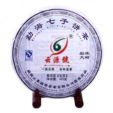 2012 год, Большие деревья Мэнсуна, шэн пуэр, блин, ч/ф Юньюань Хао