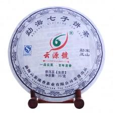 2012 год, Мэнсун оригинальный, шэн пуэр, блин, ч/ф Юньюань Хао
