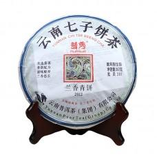 2012, Благоухание Орхидеи, 357 г/блин, шэн, ч/ф Pursue