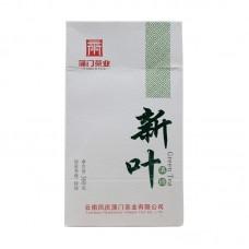 2017, Молодые листья, 300 г/упаковка, зелёный чай, ч/ф Пумэнь