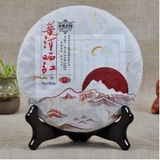 2015, Солнечная сушка, 388 г/блин, красный чай, ч/ф Машиши