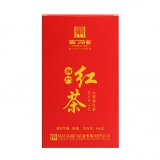 2017, Юньнаньский дяньхун, 100 г/коробка, красный чай, ч/ф Пумэнь