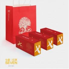 2016, Семь котомок чая, 35 г/пакет, красный чай, ч/ф Фуюань Чан