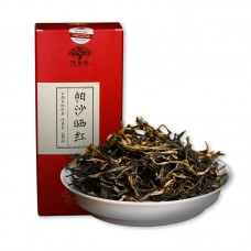 2017, Пашайский шайхун, 100 г/коробка, красный чай, ч/ф Хунпу Хао