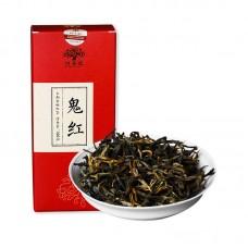 2017, Гений, 100 г/коробка, красный чай, ч/ф Хунпу Хао