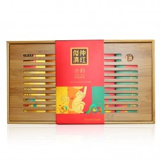 2017, Согласие, 300 г/коробка, красный чай, ч/ф Цзюньчжун Хао