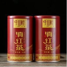2018, Дяньхун, 80 г/банка, красный чай, ч/ф Цяньшань Е