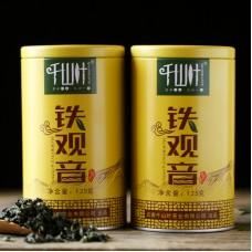 2017, Тегуаньинь, 125 г/банка, улун, ч/ф Цяньшань Е