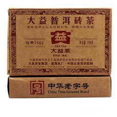 2011, 7562, 0,25 кг/коробка, шу, ч/ф Даи
