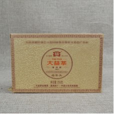 2011, Лао Чатоу, 0,25 кг/кирпич, шу, ч/ф Даи