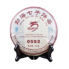 2007, 0592, 0,357 кг/блин, шу, ч/ф Лунъюань Хао