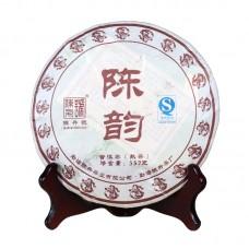 2012, Выдержанный аромат, 357 г/блин, шу, ч/ф Чэньшэн Хао
