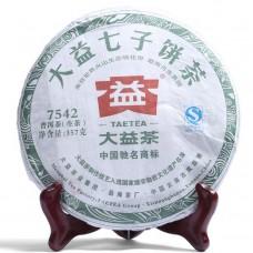 2012, 7542, 0,357 кг/блин, шэн, ч/ф Даи