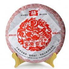 2011, Богатый Заяц, 0,357 кг/блин, шэн, ч/ф Даи