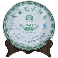 2007, 7542, 0,357 кг/блин, шэн, ч/ф Даи