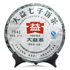 2011, 7542, 0,357 кг/блин, шэн, ч/ф Даи