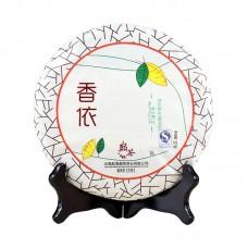 2012, Основа Чая (Весна, Цзинмайшань, древние дер-я), 0,357 кг/блин, шэн, ч/ф Дяньча