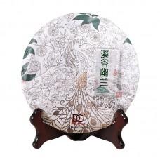 2015, Ущелье Диких Орхидей, 0,357 кг/блин, шэн, ч/ф Дяньча
