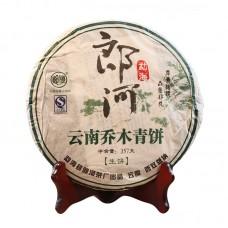 2010, Юньнаньский великан, 357 г/блин, шэн, ч/ф Ланхэ