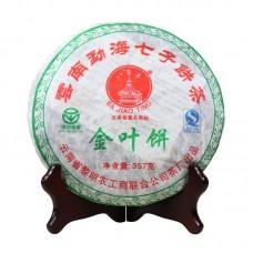 2007, Хуанпянь, 0,357 кг/блин, шэн, ч/ф Лимин